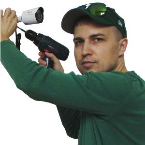 Установка видеонаблюдения в Саратове от мастера